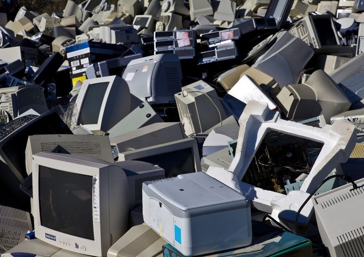 E-waste not, want not: Freezing, crushing and reclaiming old electronics. #Recycle #Reuse