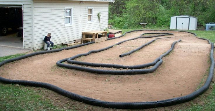backyard rc track layout - Google Search