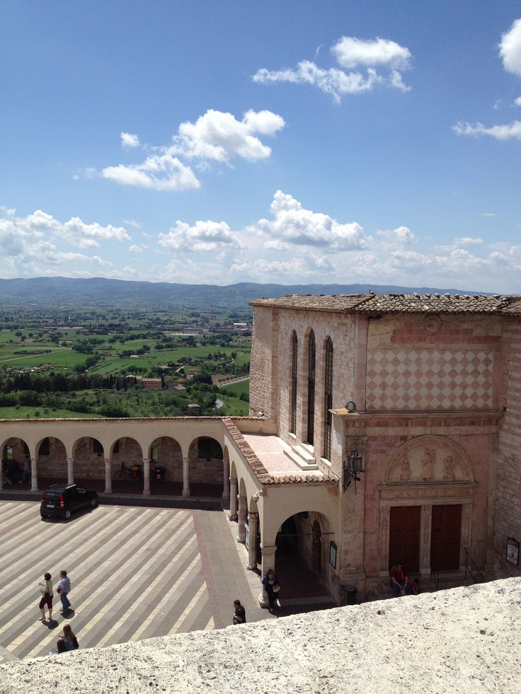 Landscape from St.Francisc, Assisi, Umbria