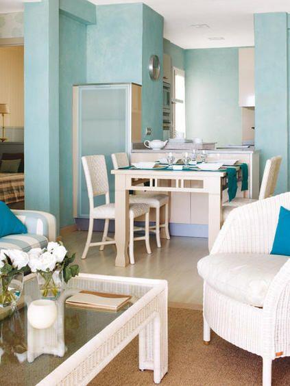 Un piso de 50 m muy bien organizado mezcla perfecta for Combinaciones de pisos para casas