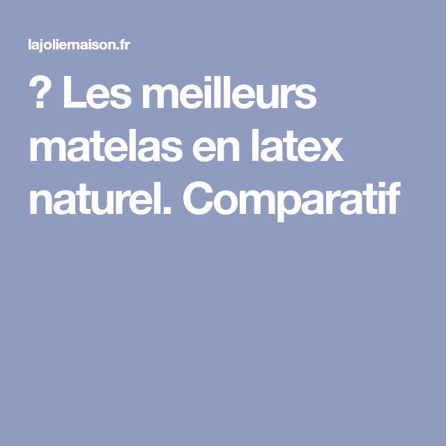 ᐅ Les meilleurs matelas en latex naturel. Comparatif
