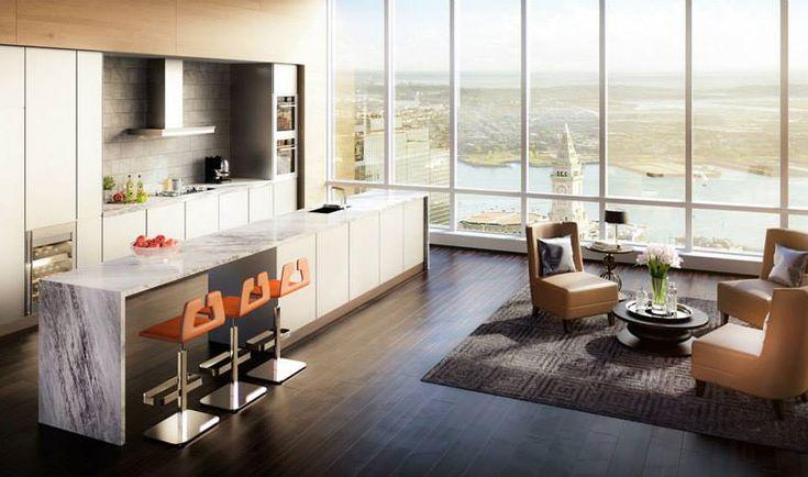 A Splendid $37.5 Million Penthouse in Boston's Tallest Residential Sky-Scraper