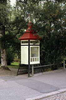 Antica cabina telefonica in Finlandia