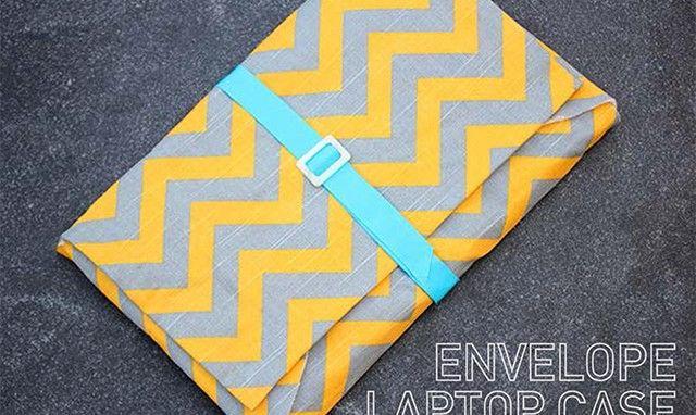 How to Make an Envelope Laptop Case