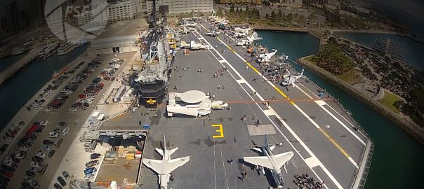 San Diego #AerialDronePhotography gave us some awesome images of the carrier http://flightsightfootage.com/blog/san-diego-aircraft-aerial-drone-photography/ #sd