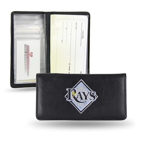Tampa Bay Rays Checkbook Holder (Embroidered) #TampaBayRays