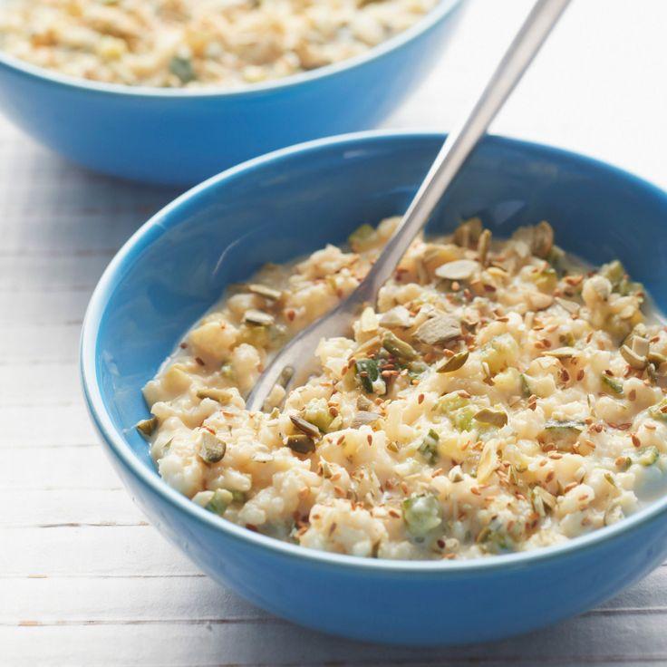Découvrez la recette Risotto bio végétarien sur cuisineactuelle.fr.