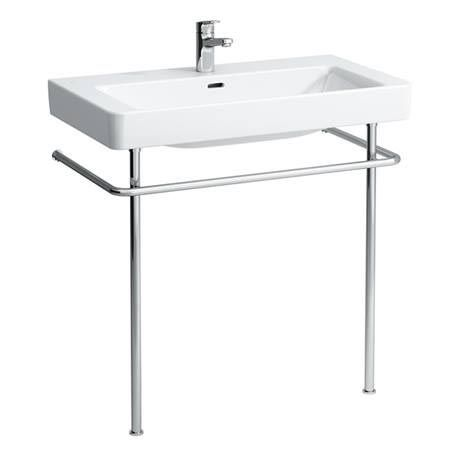 Laufen Pro Basin with Chrome Stand - 1 Tap Hole Profile Image