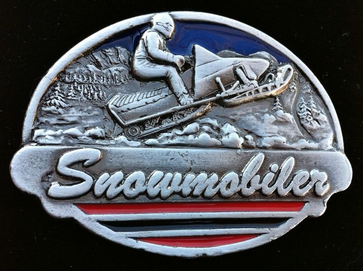 Snow Mobile Snowmobile Sports Vehicle Belt Buckle #snowmobile #snowmobiler #Motorsports #skidoo #snowmobilebeltbuckle #snowmobilebuckle #beltbuckle #atv #atvbuckle