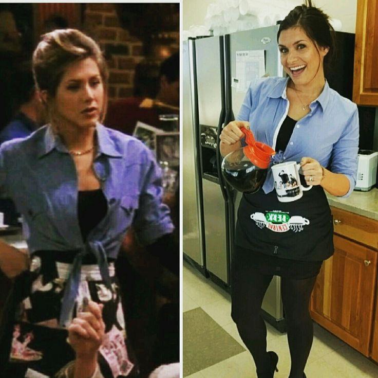 Rachel Green DIY Halloween costume