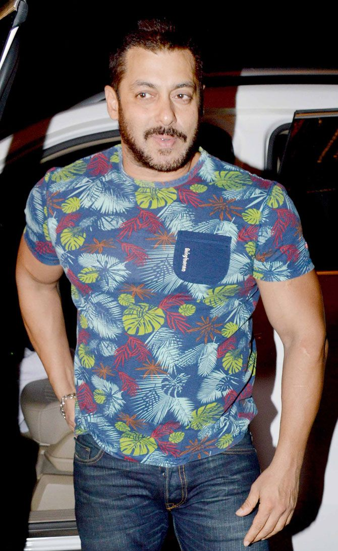 Salman Khan at Anil Kapoor's #Diwali bash. #Bollywood #Fashion #Style #Handsome