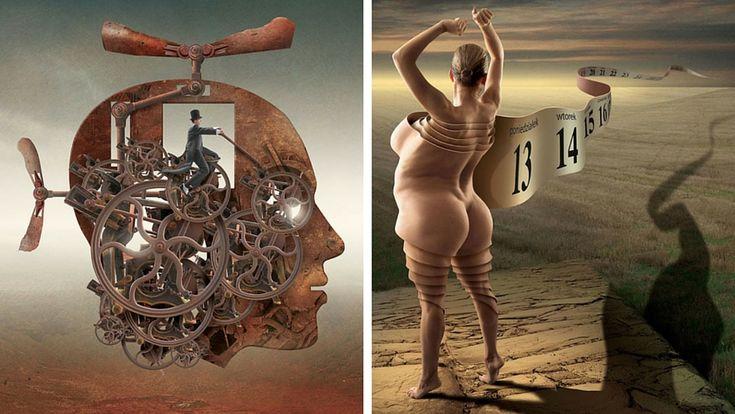 Igor Morski : quand le surréalisme caricature la société moderne