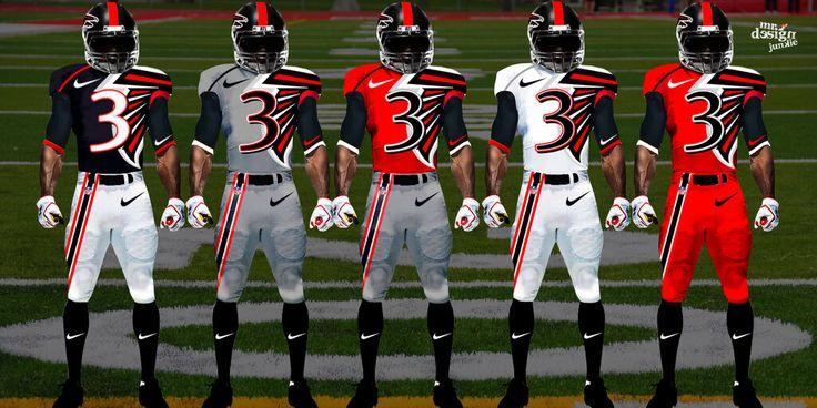 Atlanta Falcons Wallpaper Engine: 46 Best New Nike NFL Jerseys Images On Pinterest