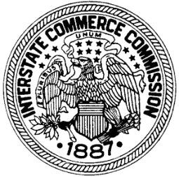 The Interstate Commerce Commission  November 25, 1955 The Interstate Commerce Commission bans segregation in interstate travel. The law affects buses and trains as well as terminals and waiting rooms.