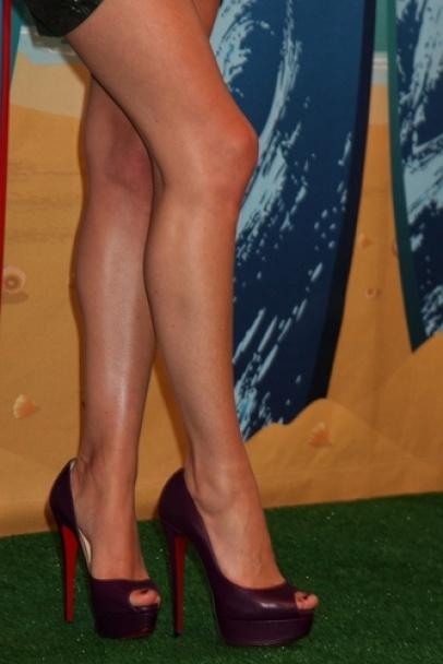 Long legs.....wish I was a little bit taller