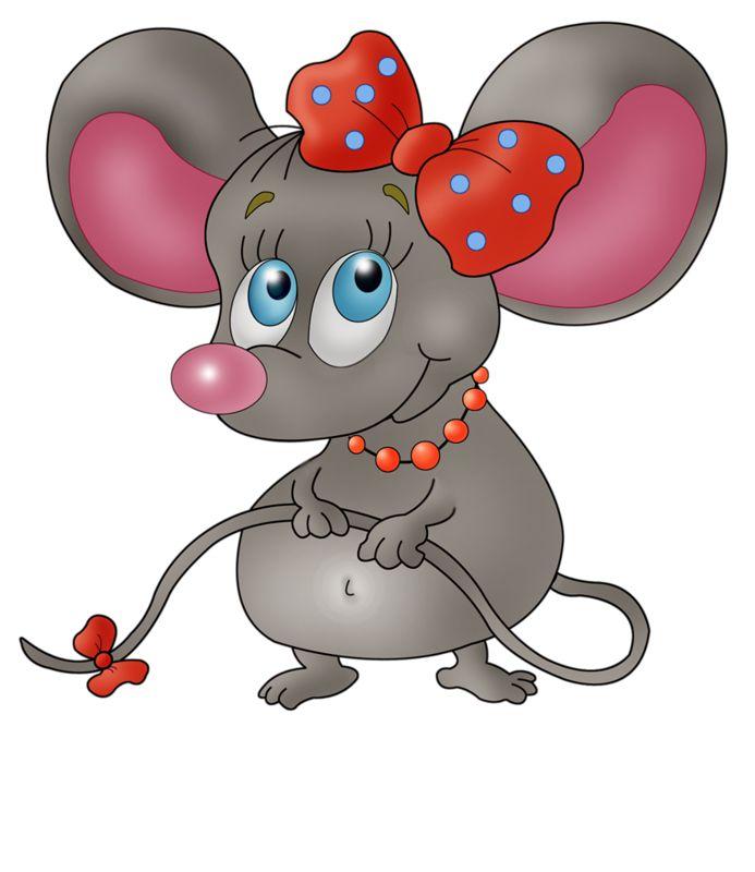 Смешные рисунки мишей