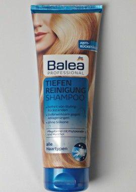 VEGANE SHAMPOOS ohne Silikone: Balea veganes Shampoo