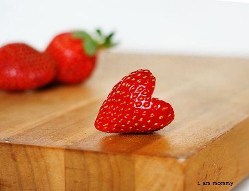 Heart Sweet Strawberry