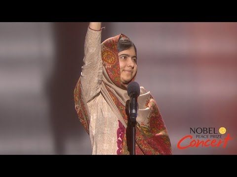 PERSUASIVE SPEECH-Malala Yousafzai - The right to learning should be given to any child - YouTube