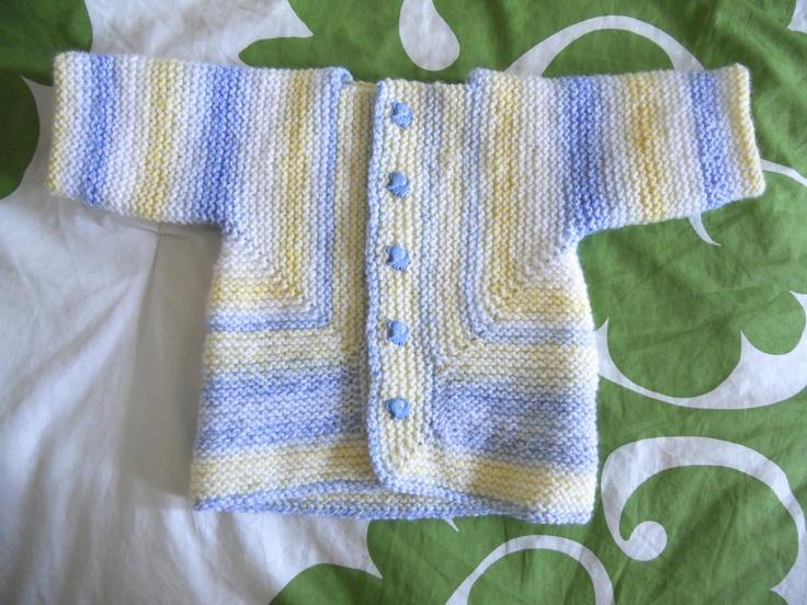 Baby Surprise Jacket by Elizabeth Zimmermann - July 2012
