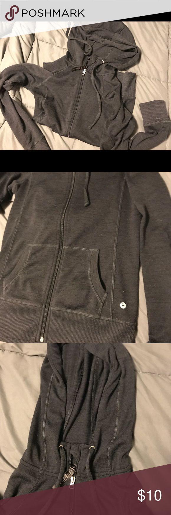 Navy Blue Zip up hoodie Great condition! Jackets & Coats