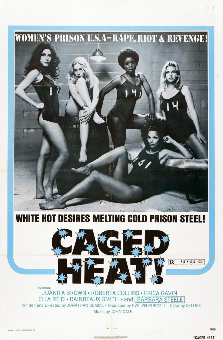 Caged Heat! (1974) Poster