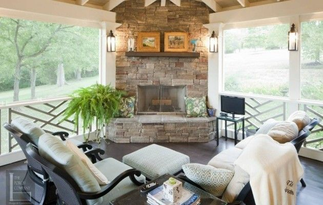 1000 Images About Screened Porch On Pinterest Wood