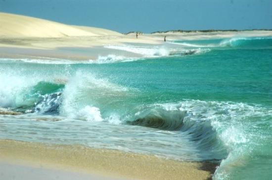 @Sal (Kapverden) - Always windy, always waves. Some special Vibe for sure.