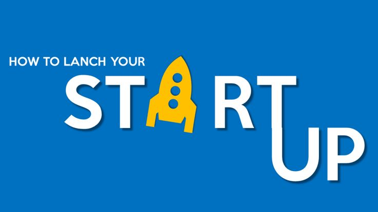 How to Launch Your Startup- PowerPoint Presentation Cover Slide