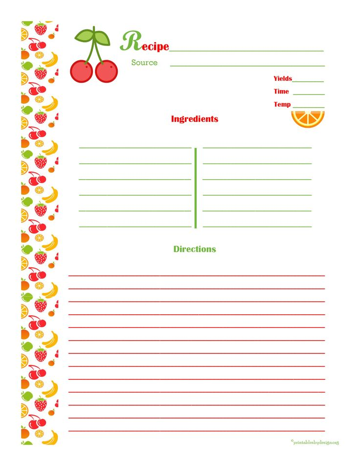 recipe binder recipe book recipe templates recipe binder