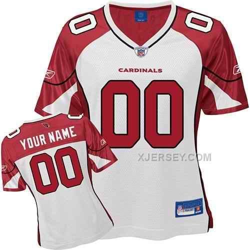 http://www.xjersey.com/arizona-cardinals-women-customized-white-jersey.html ARIZONA CARDINALS WOMEN CUSTOMIZED WHITE JERSEY Only $75.00 , Free Shipping!