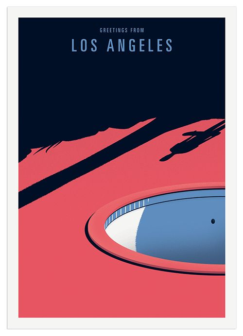 Greetings from Los Angeles on Behance