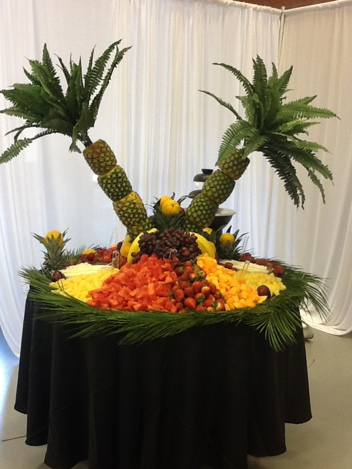 This a fruit display I did for a wedding this weekend.