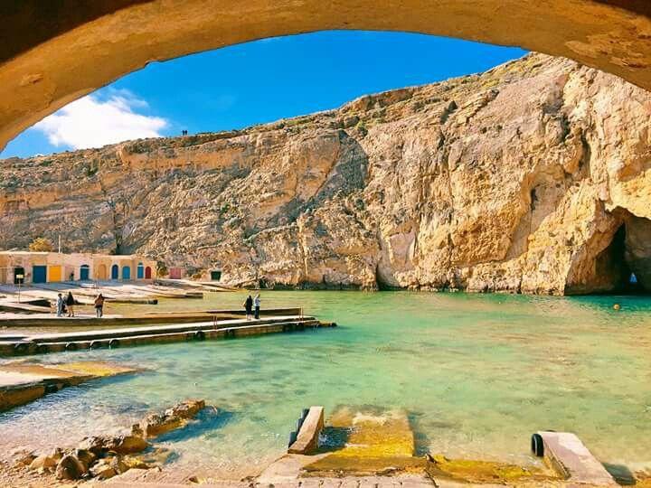 Gozo The Inland Sea Malta Beaches Malta Island