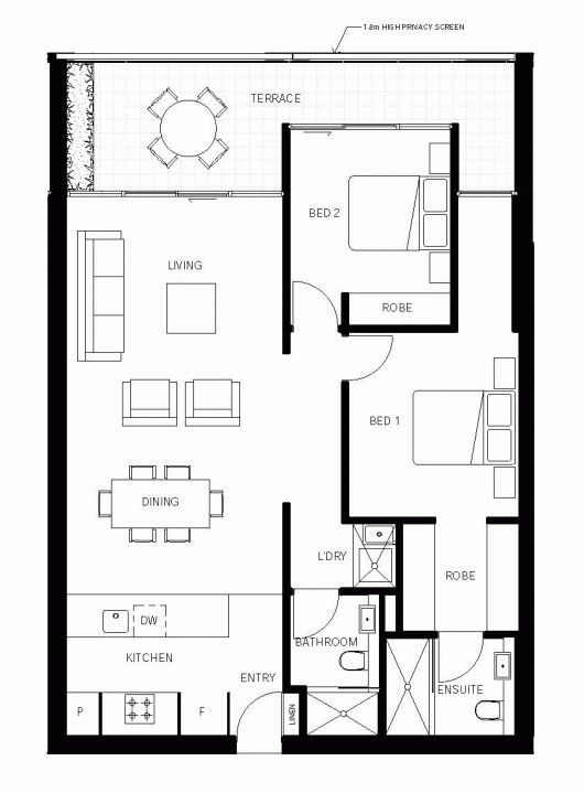 Apartment Floor Plan Design Interesting Design Decoration