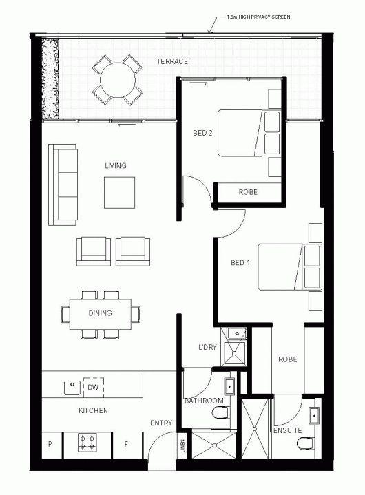 Small Master Bedroom Floor Plan 526 best floor plans (sims3) images on pinterest | house floor