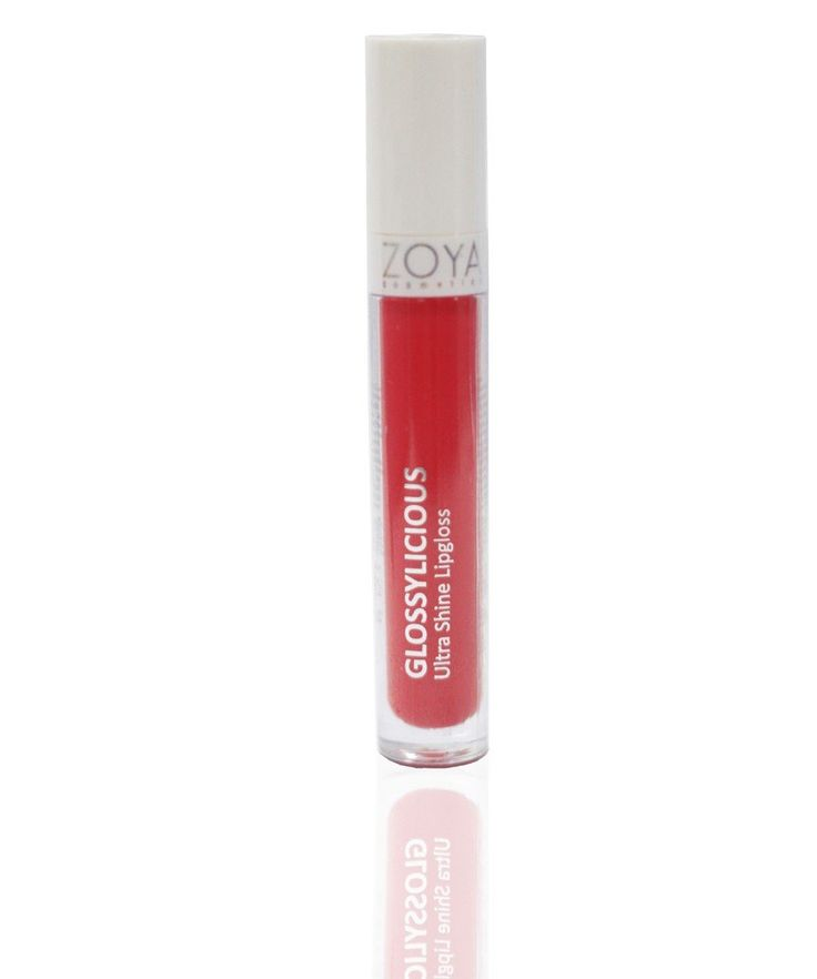 Glossylicious Rococco by Zoya Cosmetics, membuat bibir mengkilap dengan menciptakan lapisan coating transparan, tahan lama menyatu dengan warna alami bibir dan menciptakan tampilan bibir yang alami dan hidup.
