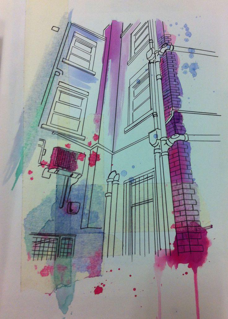 Hannah Nickson - illustration development