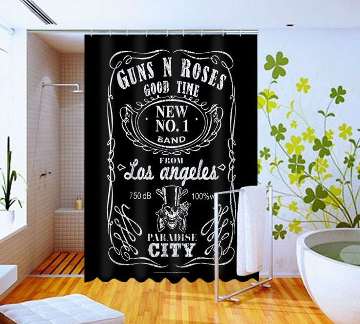 Guns and Roses Inspired Jack Daniel High Quality Custom Shower Curtain 60 x 72 #Unbranded #Modern #Unbranded #Modern #Unbranded #Modern #BestQuality #Cheap #Rare #New #Latest #Best #Seller #BestSelling #Cover #Accessories #Protector #Hot #BestSeller #2017 #Trending #Luxe #Fashion #Love #ShowerCurtain #Luxury #LimitedEdition #Bathroom #Cute #ShowerCurtain #CurtainGift