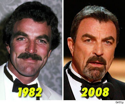 Tom Selleck...The chin hair needs to GO! And the hair needs to be just a tad longer.
