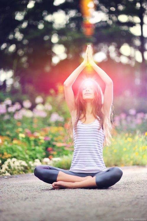 Namaste. #Yoga #GetMoving