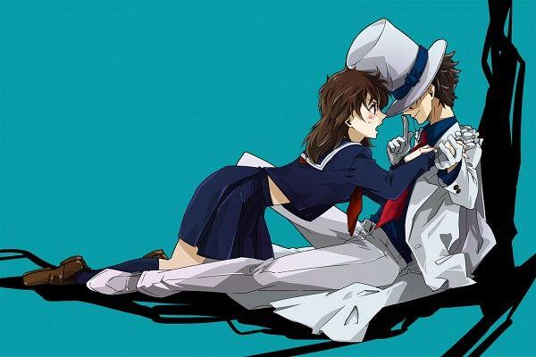 Tags: Anime, Fanart, Kaitou Kid, Kuroba Kaito, Nakamori Aoko