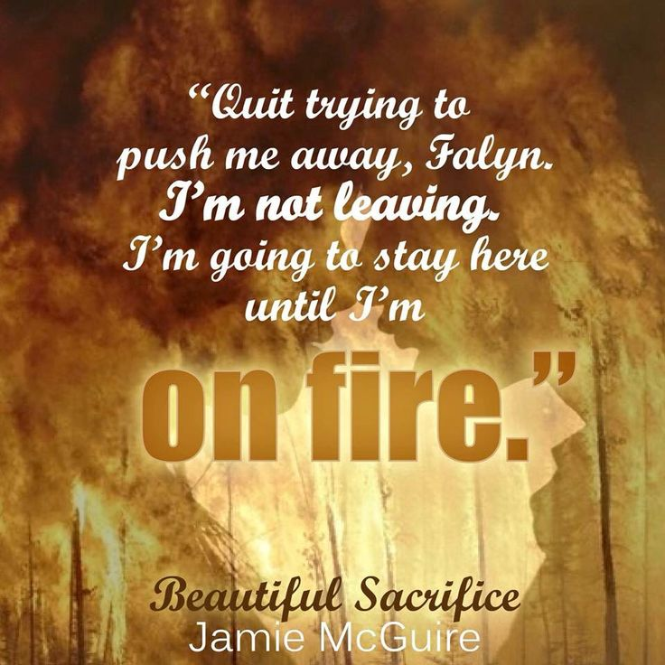 Beautiful Sacrifice by Jamie McGuire photo credit: Author Kandi Steiner