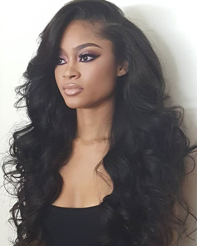 H F 360 Lace Wig Body Wave Virgin Human Hair Malaysian Straight