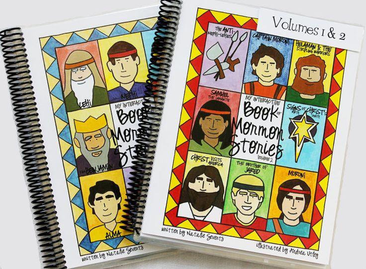 Combo: Vol 1 & 2 - My Interactive Book of Mormon Stories PDF. $17.99, via Etsy.