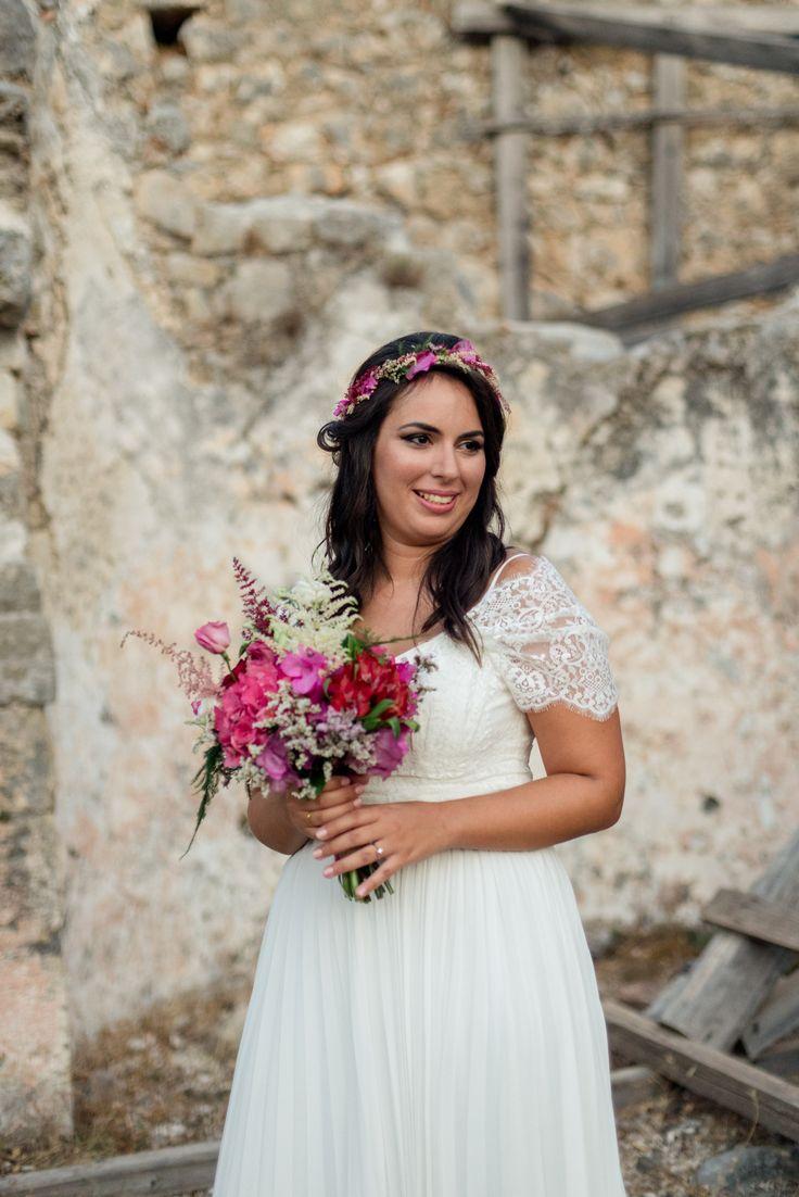 Bougainvillea Wedding | lafete / bride / Fuchsia