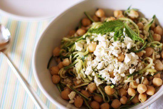 ... makin foods lunch recipe warm chickpea salad with cumin amp garlic