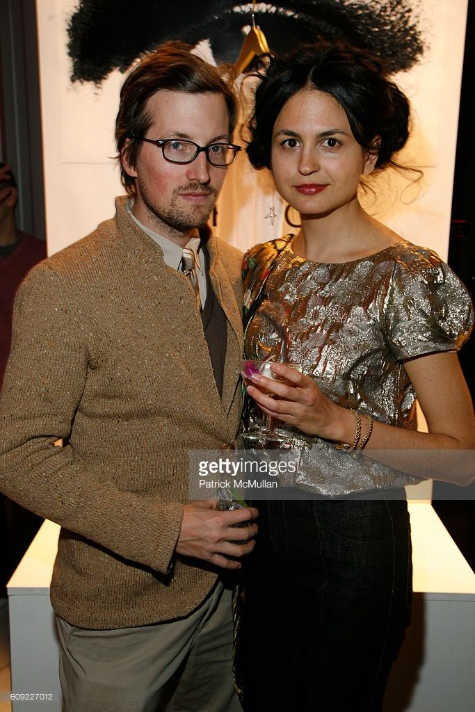 Jonathan Schmitt and Juman Malouf attend Jade Jagger & Renzo Rosso partner to kick off LIMITED EDITION NEW YORK (LENY) to support Al Gore's CLIMATE PROJECT at Industria Studios on February 6, 2007 in New York.