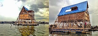 Escuela Flotante en Makoko / Makoko Floating School - Archkids. Arquitectura para niños. Architecture for kids. Architecture for children.