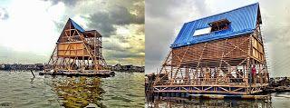 Escuela Flotante en Makoko / Makoko Floating School - Archkids. Arquitectura para niños. Architecture for kids. Architecture for children.
